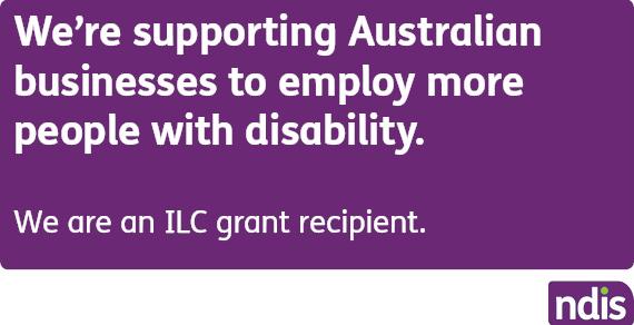 Image description: NDIS ILC Grant Recipient logo