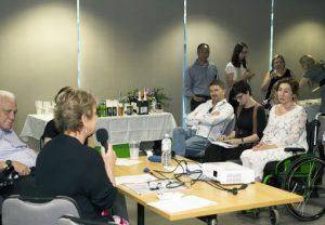 Image description: Valued Lives' workshop